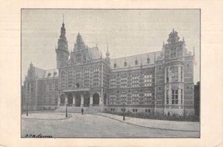 Ansichtkaart Groningen Academie 1909 HC13437