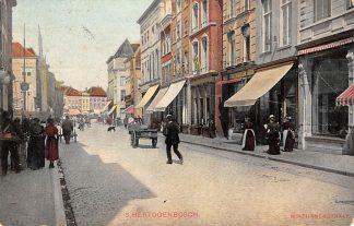 Ansichtkaart Den Bosch Hinthamerstraat 1907 HC13567