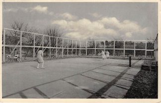 Ansichtkaart Teteringen Tennisbaan de Nieuwe Uitspanning Breda HC13571