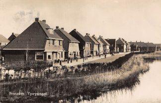 Ansichtkaart Franeker Ypeysingel 1943 Type fotokaart HC13572