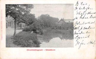 Ansichtkaart Schoonhoven Albrecht Beijlinggracht 1904 HC13605