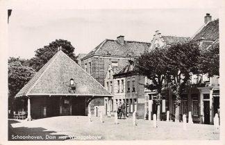 Ansichtkaart Schoonhoven Dam met Waaggebouw HC13616