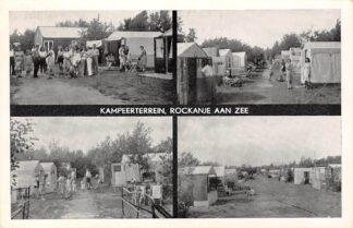 Ansichtkaart Rockanje aan Zee Kampeerterrein 1955 Camping HC13626