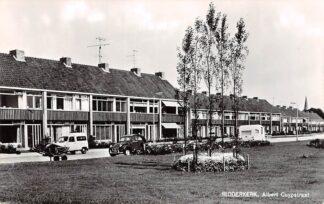 Ansichtkaart Ridderkerk Albert Cuypstraat Auto Citroen Caravan 1966 HC13628