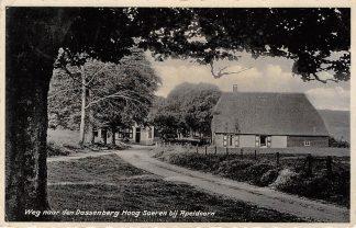 Ansichtkaart Hoog-Soeren bij Apeldoorn Weg naar den Dassenberg 1934 HC13639