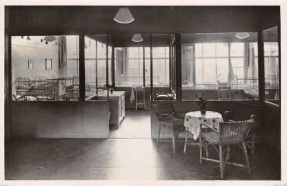 Ansichtkaart Gouda Diaconessenhuis De Wijk Kinderafdeling 1949 Ziekenhuis HC13644
