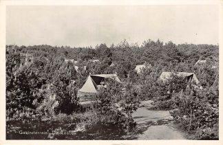 Ansichtkaart Oisterwijk Gezinsterrein De Reebok Camping 1956 HC13655