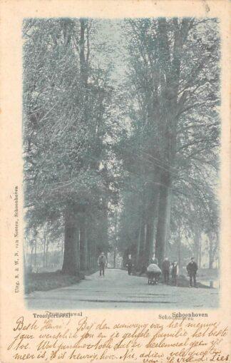 Ansichtkaart Schoonhoven Trompertswal Van Nooten HC13671
