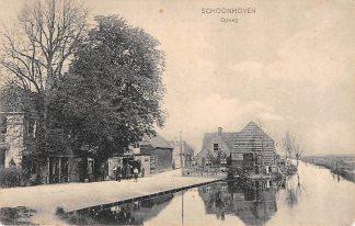 Ansichtkaart Schoonhoven Opweg 1908 Van Nooten No. 461 HC13673