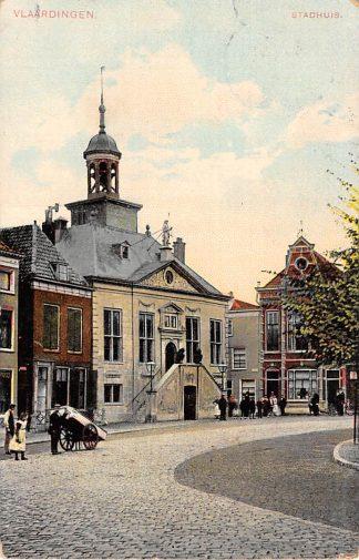 Ansichtkaart Vlaardingen Stadhuis 1912 HC13700