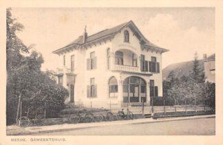 Ansichtkaart Neede Gemeentehuis 1942 Berkelland HC13711