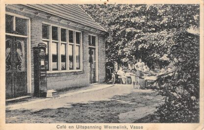 Ansichtkaart Vasse Cafe en Uitspanning Wermelink 1930 Tubbergen HC13718