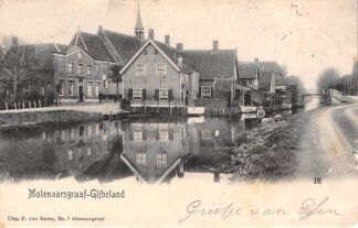 Ansichtkaart Molenaarsgraaf - Gijbeland 1904 Alblasserwaard HC13725