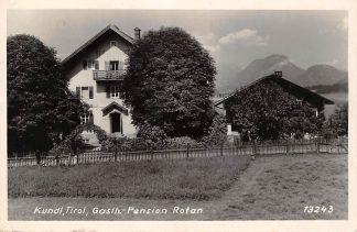 Ansichtkaart Oostenrijk Kundl Tirol Gasth.-Pension Rofan Fotokaart Osterreich Austria Europa HC13730
