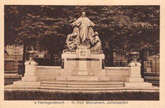 Ansichtkaart Den Bosch Julianaplein H. Hart Monument HC13740