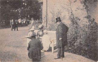 Ansichtkaart Amsterdam Onafhanelijkheidsfeesten September 1913 Park Koningin Wilhelmina en prinses Juliana Koninklijk Huis HC13765