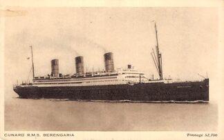 Ansichtkaart Engeland Cunard R.M.S. Berengaria Scheepvaart schepen Great Britain Europa HC13766