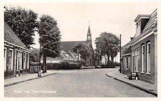 Ansichtkaart Arum van Canningaweg Gereformeerde Kerk HC13770