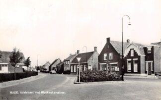Ansichtkaart Made Adelstraat met Blockmekerstraat 1964 Drimmelen HC13809