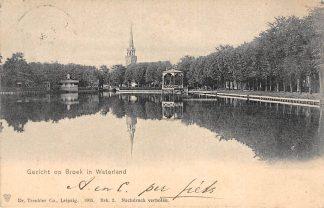 Ansichtkaart Broek in Waterland Gezicht op ... 1905 HC13828