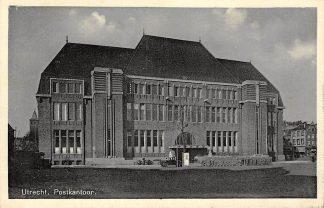Ansichtkaart Utrecht Postkantoor 1941 HC13846