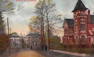 Ansichtkaart Almelo Groete uit ... HC13851