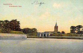 Ansichtkaart Naarden Amsterdamsche Poort 1908 HC13866