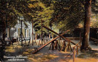 Ansichtkaart Naarden Uitspanning Valkeveen nabij Oud - Bussum Speeltuin 1910 HC13867