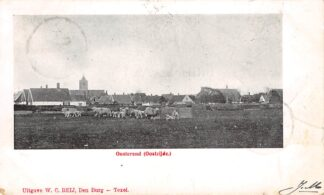 Ansichtkaart Texel Oosterend Oostzijde 1904 HC13886