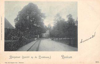 Ansichtkaart Renkum Dorpstraat (gezicht op de Lindeboom) HC13887