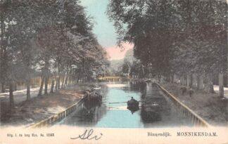 Ansichtkaart Monnickendam Binnendijk 1906 HC13905