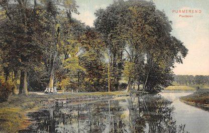 Ansichtkaart Purmerend Plantsoen 1907 HC13920