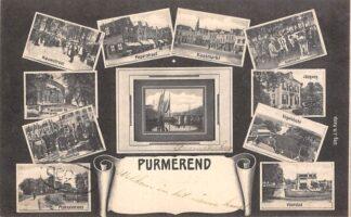 Ansichtkaart Purmerend 11-luik HC13934