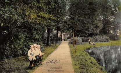 Ansichtkaart Purmerend Where Plantsoen 1909 HC13937