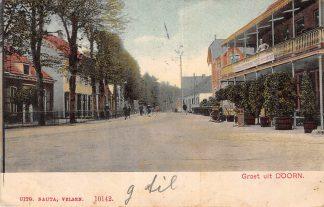 Ansichtkaart Doorn Groet uit 1908 HC13940