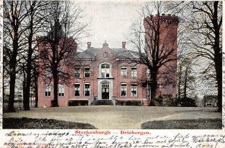 Ansichtkaart Driebergen Sterkenburgh 1904 Kasteel HC13941