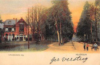 Ansichtkaart Hilversum 's-Gravelandsche weg HC13943