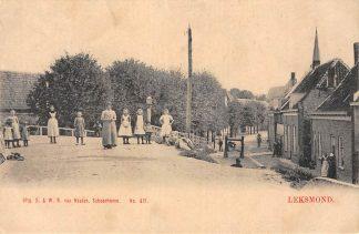 Ansichtkaart Lexmond Leksmond Van Nooten No. 417 HC13949