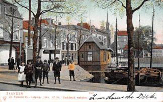 Ansichtkaart Zaandam 1904 HC13957