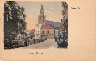 Ansichtkaart Gouda Hooge Gouwe 1901 HC13963