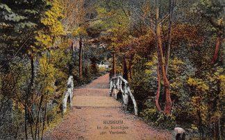 Ansichtkaart Bussum In de boschjes van Verbeek 1926 HC13964