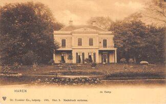 Ansichtkaart Haren de Kamp 1905 HC13986