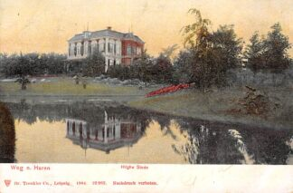 Ansichtkaart Weg naar Haren Hilghe Stede 1904 HC13988
