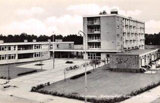 Ansichtkaart Groningen Studentenflat Corpus den Hoorn 1965 HC13994