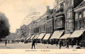 Ansichtkaart Groningen A Kerkhof 1910 HC14026