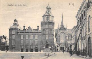 Ansichtkaart Goes Stadhuis en Kerk HC14083