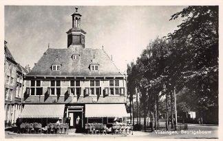 Ansichtkaart Vlissingen Beursgebouw 1941 HC14088
