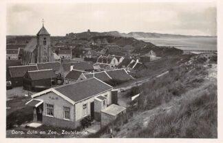 Ansichtkaart Zoutelande Dorp duin en Zee Veere Walcheren HC14094
