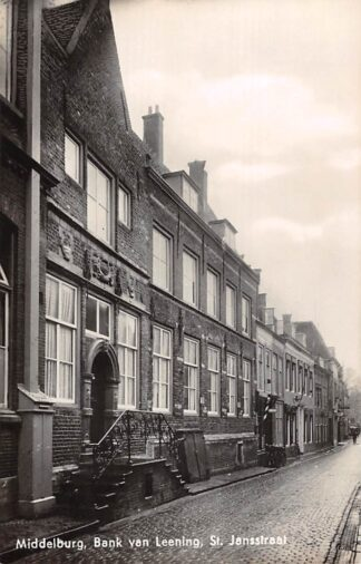 Ansichtkaart Middelburg Bank van Leening St. Jansstraat 1940 HC14104
