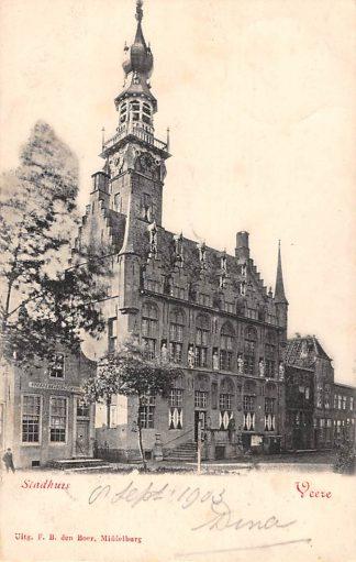 Ansichtkaart Veere Stadhuis 1903 HC14105